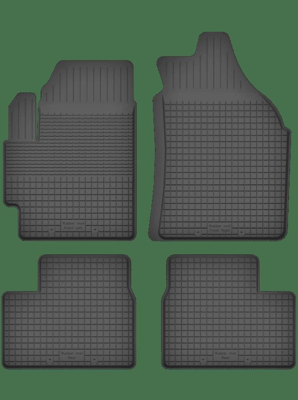 Fiat Sedici (2006-2013) universal gummimåttesæt