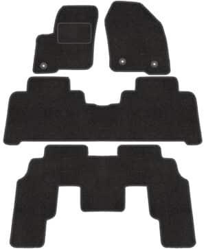 Ford Galaxy III 7 per (fra 2015) skræddersyede måtter