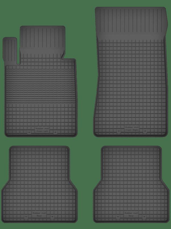 Mini Cabrio II (2009-2015) universal gummimåttesæt