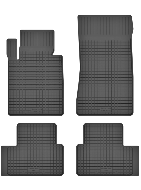 BMW 1-Series E81 (2004-2012) universal gummimåttesæt
