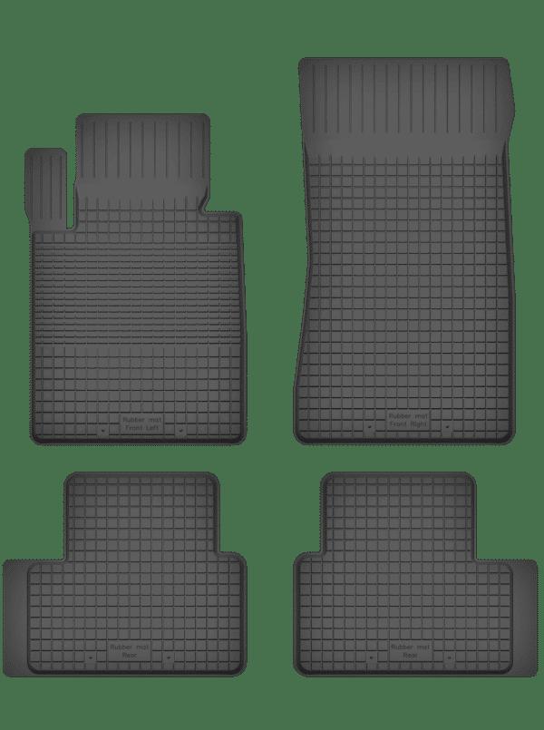 BMW 1-Series E82 (2004-2012) universal gummimåttesæt