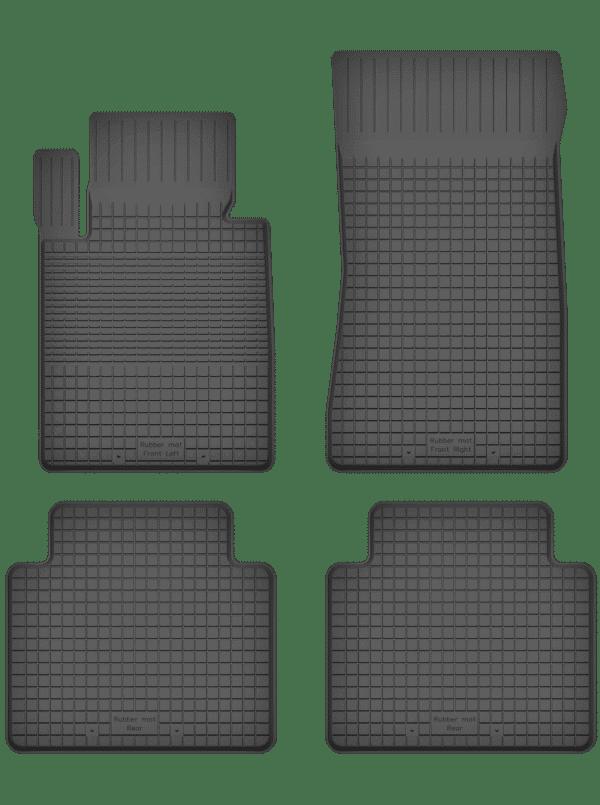 BMW 4-Series F32 (fra 2013) universal gummimåttesæt