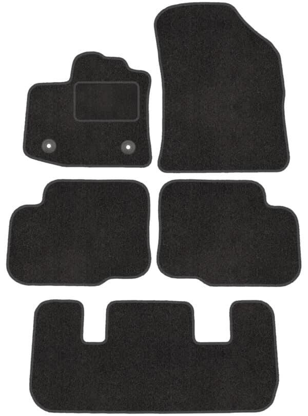 Dacia Lodgy 7 per (fra 2012) skræddersyede måtter