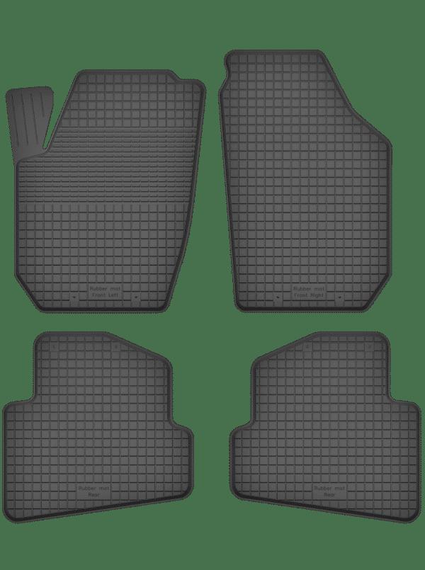 Skoda Fabia II (2007-2014) universal gummimåttesæt