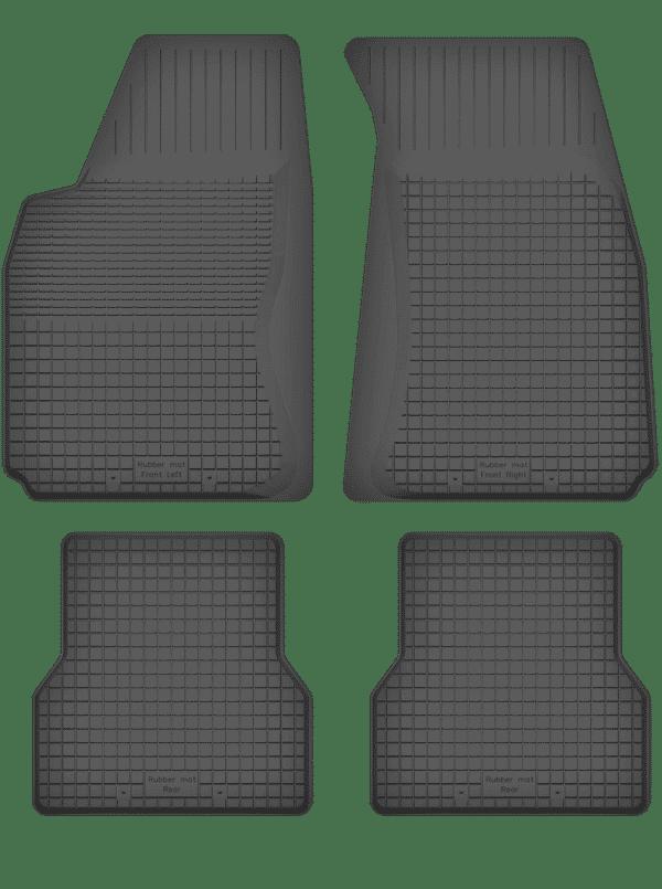 Audi A6 C6 (2004-2006) universal gummimåttesæt