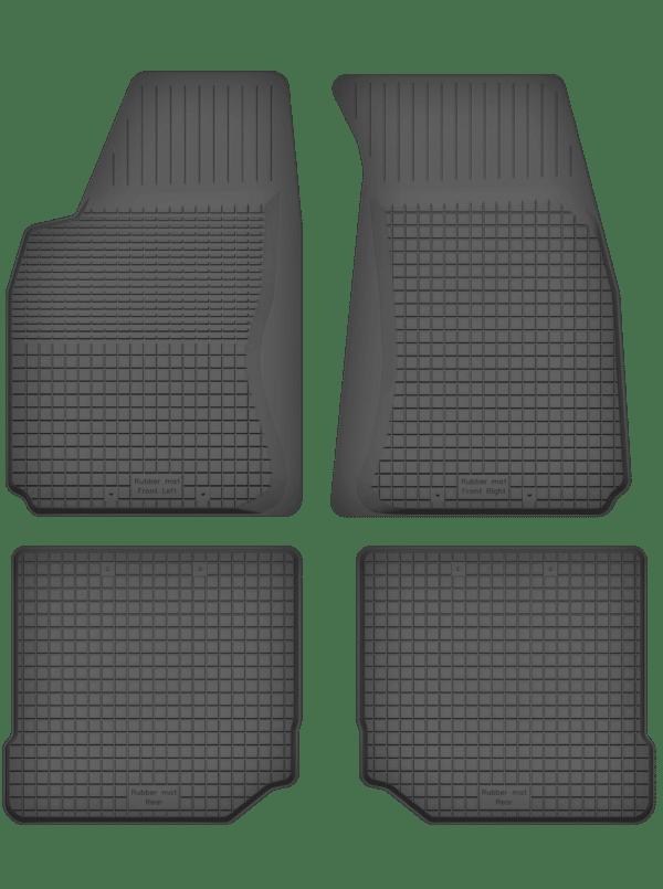 Audi 80 B4 (1991-1994) universal gummimåttesæt