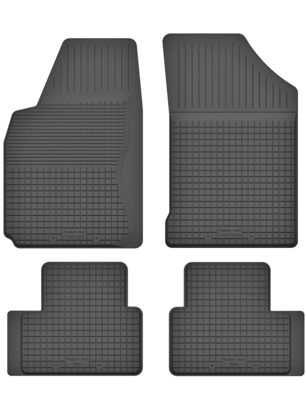 Alfa Romeo GT (2003-2010) universal gummimåttesæt