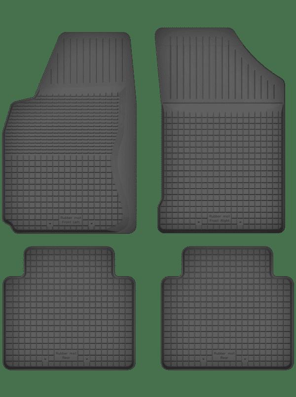 Nissan Note I (2006-2012) universal gummimåttesæt