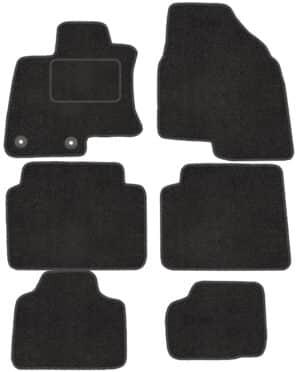 Nissan Qashqai I +2 (2007-2013) skræddersyede måtter