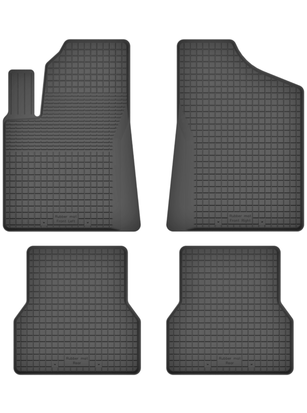 Fiat Grande Punto (2005-2010) universal gummimåttesæt