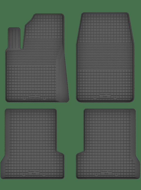 Ford Fiesta MK7 (2008-2018) universal gummimåttesæt