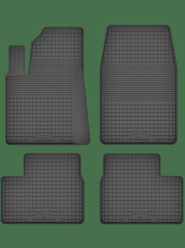 Peugeot 207 (2006-2012) universal gummimåttesæt