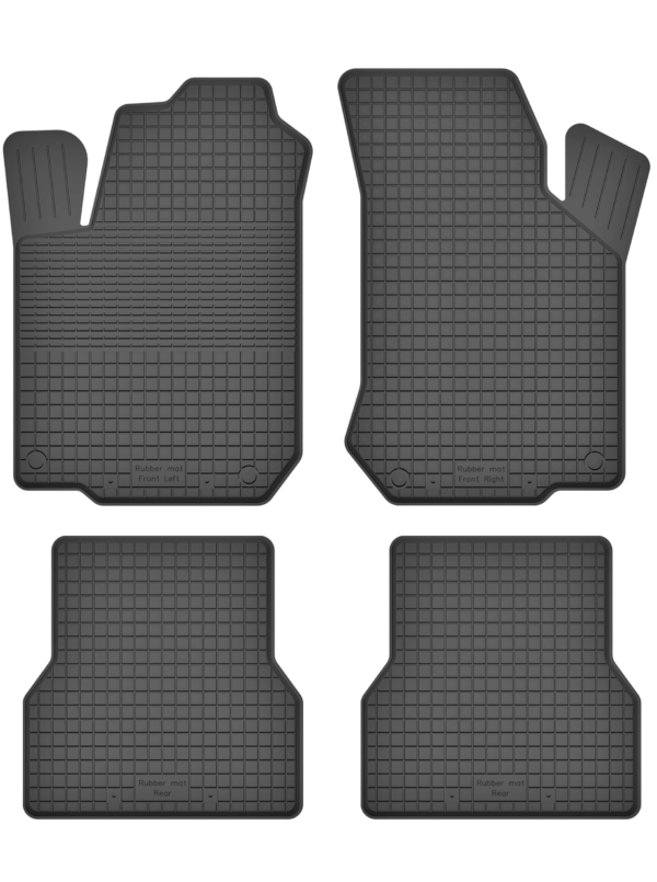 Fiat Doblo I (2001-2009) universal gummimåttesæt