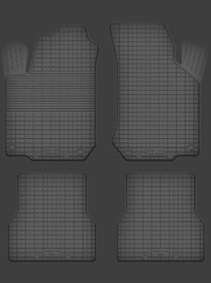 Opel Combo C (2000-2006) universal gummimåttesæt