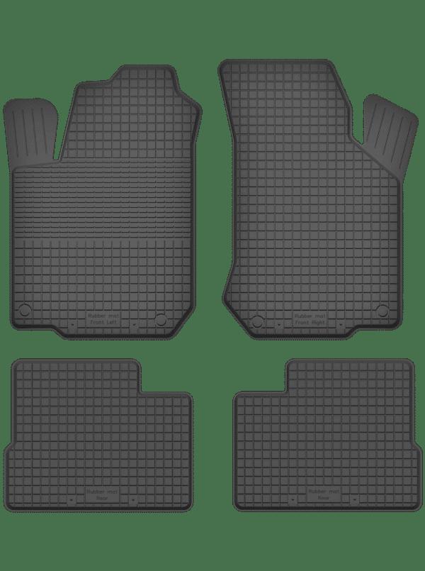 Chevrolet Kalos (2004-2007) universal gummimåttesæt