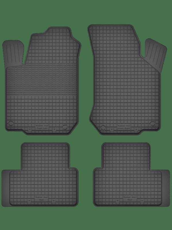 Hyundai Atos (2000-2008) universal gummimåttesæt