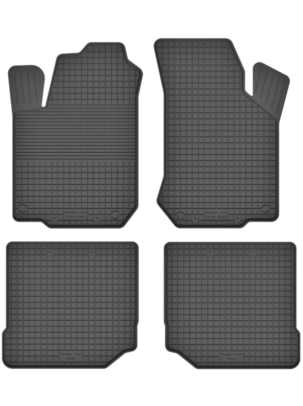 Volkswagen Bora (1998-2004) universal gummimåttesæt