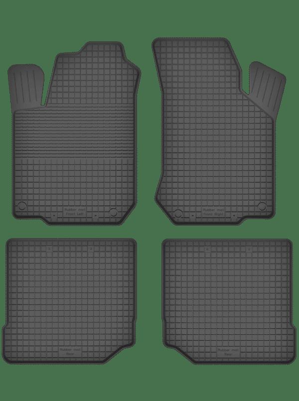 Volkswagen Golf IV (1997-2003) universal gummimåttesæt