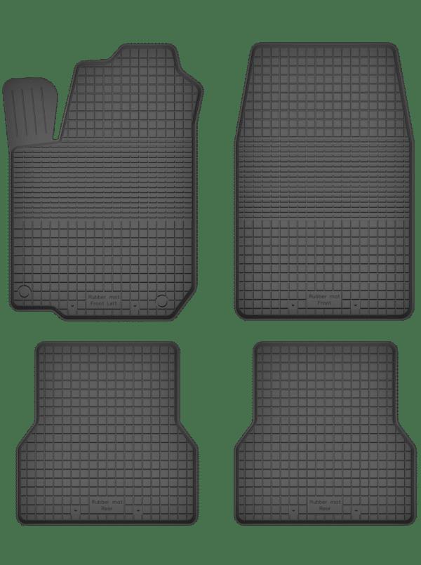 Nissan X-Trail II (2007-2014) universal gummimåttesæt