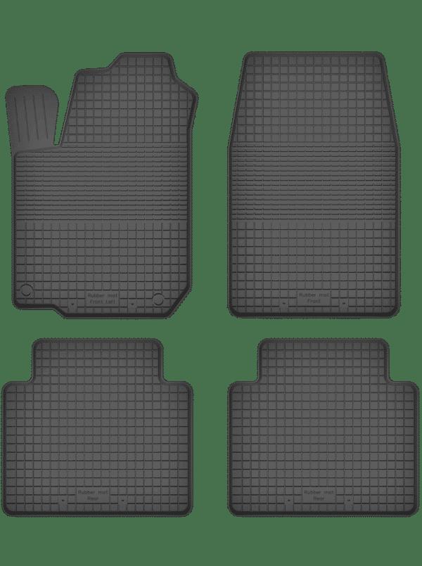 Mitsubishi Outlander I (2001-2006) universal gummimåttesæt