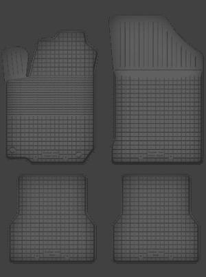 Citroen C1 I (2005-2014) universal gummimåttesæt
