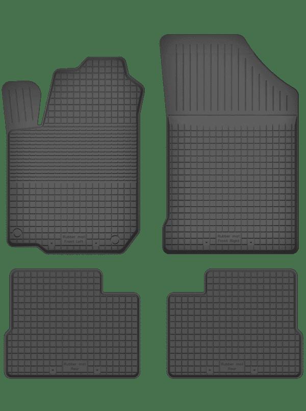 Hyundai i20 I (2008-2015) universal gummimåttesæt