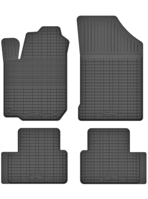 Hyundai i10 I (2007-2013) universal gummimåttesæt