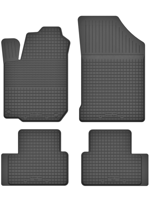 Nissan Qashqai II (fra 2013) universal gummimåttesæt