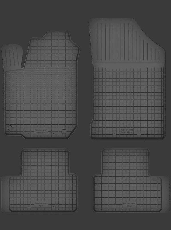 Opel Agila B (2007-2014) universal gummimåttesæt