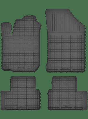 Saab 9-3 II (2002-2011) universal gummimåttesæt