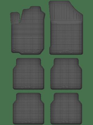 Citroen C8 (2002-2012) universal gummimåttesæt