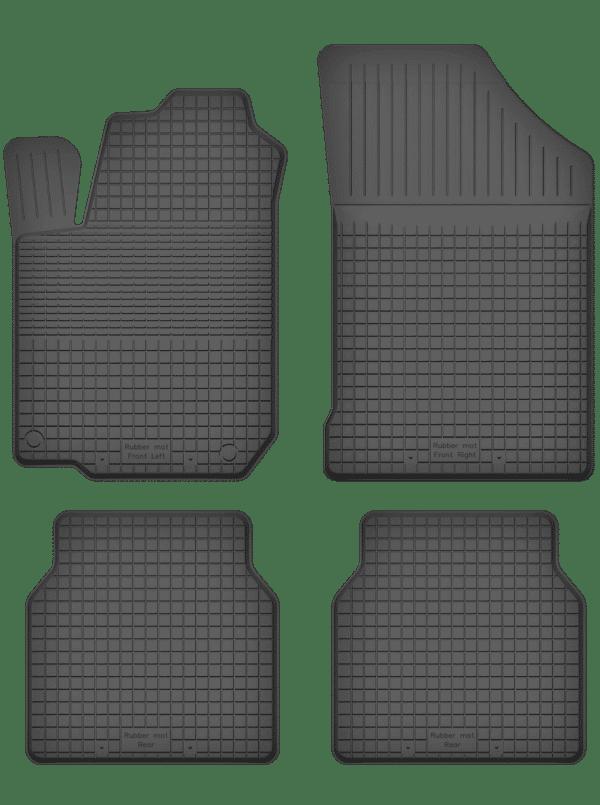 Volkswagen Scirocco II (1981-1992) universal gummimåttesæt