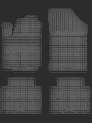 Renault Clio II (1998-2005) universal gummimåttesæt