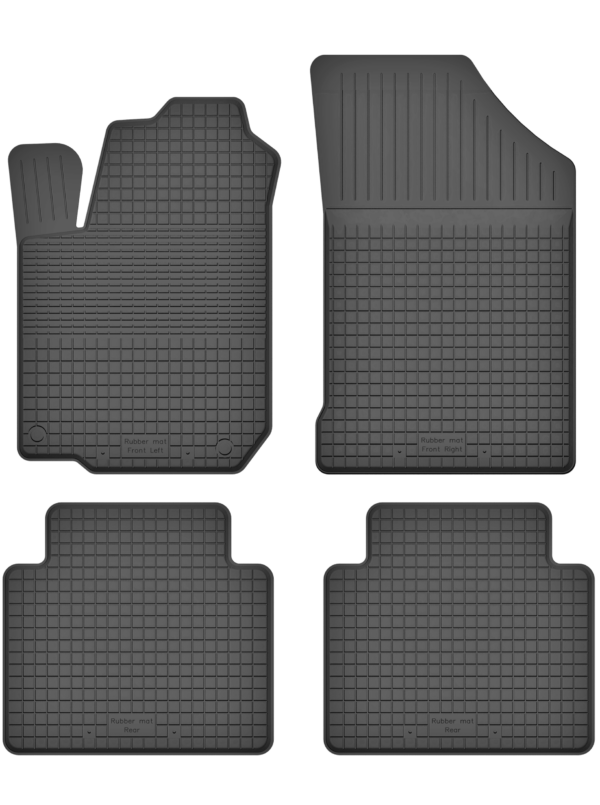 Daewoo Leganza (1997-2004) universal gummimåttesæt