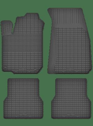 Renault Clio III (2005-2012) universal gummimåttesæt
