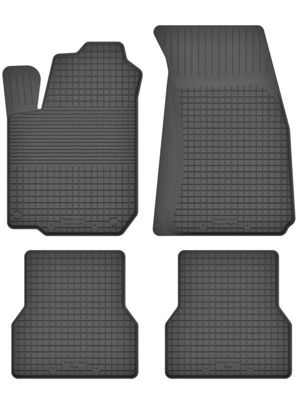 Renault Clio IV (fra 2013) universal gummimåttesæt