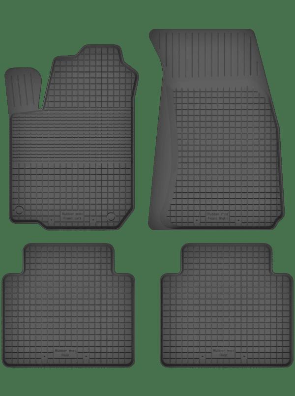 Fiat 125P (1967-1993) universal gummimåttesæt