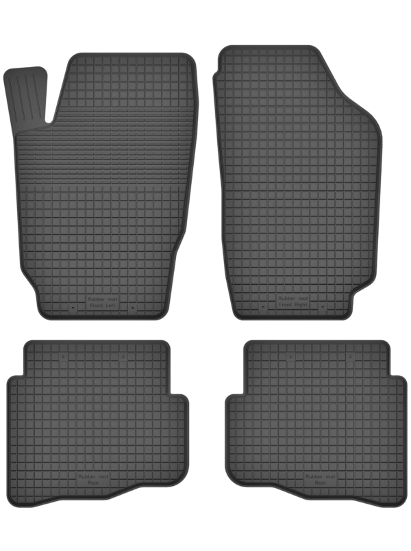 Volkswagen Polo IV (2001-2009) universal gummimåttesæt