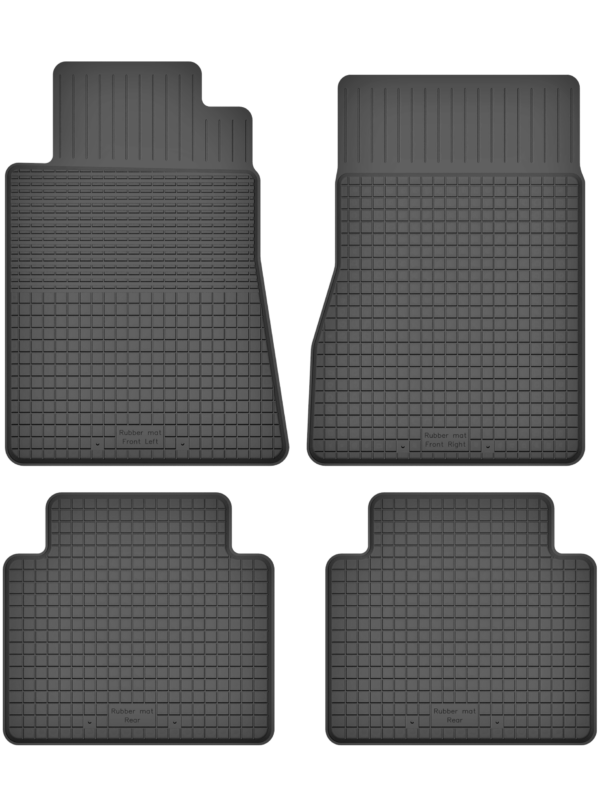 Mercedes E-Klasse W123 (1976-1985) universal gummimåttesæt