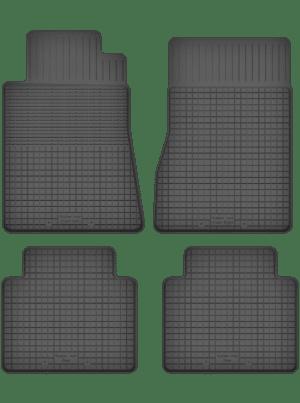 Mercedes S-Klasse W116 (1972-1980) universal gummimåttesæt