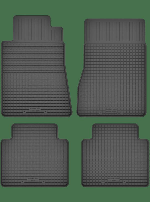 Mercedes S-Klasse W126 (1979-1991) universal gummimåttesæt